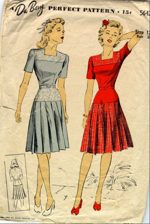 1940s Fashion Trends