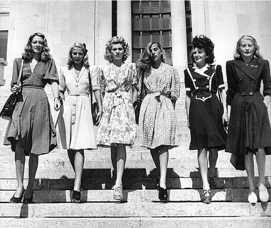Style Changes In The 1930s 1940s The History Of Women 39 S